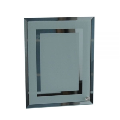 Glass Frame - Mirror Edge/Center
