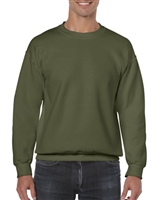 Gildan Crewneck Sweatshirt Hunter Green Size M