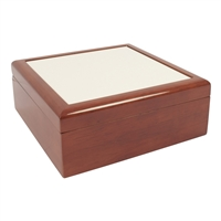 "Jewelry Box - Oak 4"" X 4"" tile"