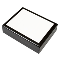 "Jewelry Box - Ebony 6""x 8"" tile"