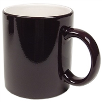 Color Changing Mug - Magic Mug - black - Sold by dozen