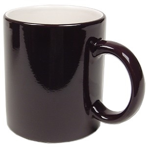 11 oz. Color Changing Mug Glossy Black