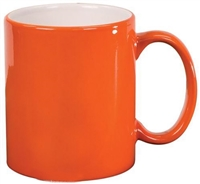 Color Changing Mug - Magic Mug  - orange - Sold by dozen
