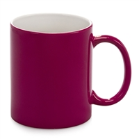 Color Changing Mug - Magic Mug - magenta - Sold by dozen