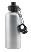 600 ml Aluminum Sport Bottle - Silver
