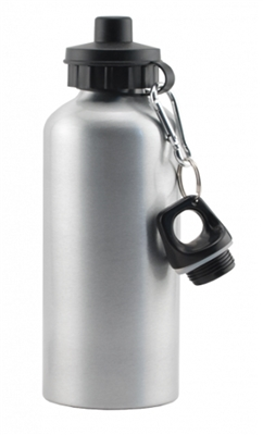 Flip Top Bottle - Silver