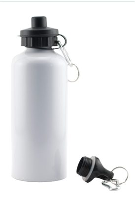 Flip Top Bottle - White