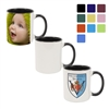 11oz Color Mug Inner/Handle Custom Printing