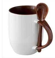 Spoon Mug - Brown