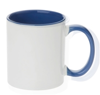 11 oz. Inner/Handle Cambridge Blue Orca Mugs