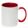 11 oz. Inner/handle Red Orca Mugs