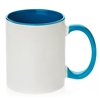 11 oz. Inner/Handle Light Blue Orca Mugs