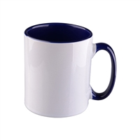11 oz. Inner/Handle Navy Orca Mugs