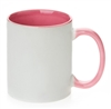 11 oz. Inner/Handle Pink Orca Mugs