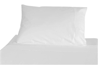 White Microfiber Pillowcase - Standard Size