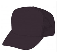 Black Mesh Tucker Cap