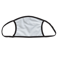 Vapor Apparel Sublimation Face Mask -  w/Black Trim