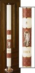 Risen Christ Paschal Candle