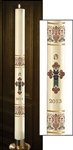 Coronation Paschal Candle