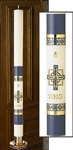 Alpha Omega Paschal Candle