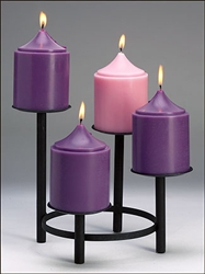 Advent Church Candle Set
