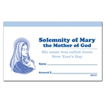 Children's 3 x 5 Solemnity Of Mary