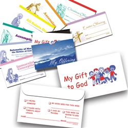 Children Envelope Boxed Set - Printed 2 Colors