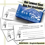 Envelope Boxed Set - Spanish & English