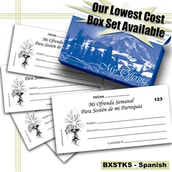 Envelope Boxed Set - Spanish
