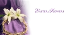 Easter Flower Offering Envelope