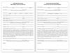 Baptism Application Form English/Spanish