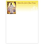 Christ Our Lord Has Risen Today Letterhead