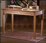 COMMUNION TABLE-PECAN FINISH