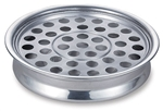 COMMUNION TRAY POLISHED ALUM