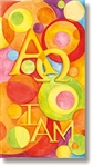 Stained Glass Alpha Omega Banner