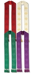 Jerusalem Cross Stole with Tassels