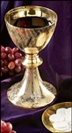 CELTIC CROSS CHALICE & PATEN