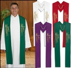 Alpha Omega Clergy Stole