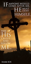 Take Up His Cross Banner