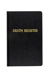 Church Death Register- Desk Size