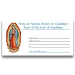Our Lady of Guadalupe Envelope