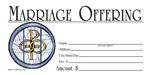 S6517 - Marriage Offering Envelope - Full Color
