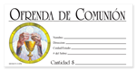 S6518S - Spanish Communion Offering Envelope - Full Color