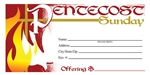 S6521 - Pentecost Offering Envelope - Full Color