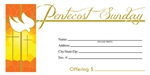 S6522 - Pentecost Offering Envelope - Full Color