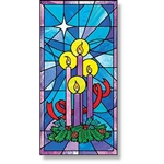 Celebrate Advent Canvas Banner - Free Shipping