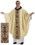 Coronation Chasuble with Cowl Neck