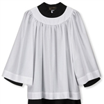RND Neck Surplice Long Sleeve