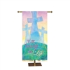 Banner: 3x6' Easter Crosses