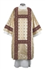 Gold Cross Jacquard Dalmatic